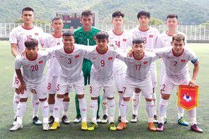 U18 Việt Nam xếp thứ nhì tại Giải U18 Quốc tế Hong Kong 2019