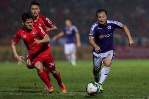 Xem Thành Lương đi bóng 'ma thuật' ở bàn thắng thứ hai của Hà Nội FC