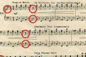 Mật danh kho vàng của Hitler giấu trong bản nhạc: Đã giải mã được?