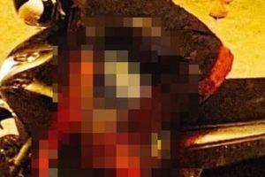 Kinh hoàng, người đàn ông bị đâm chết ngay trên xe máy sau va chạm giao thông