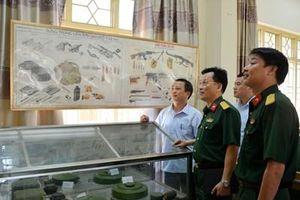 Kiểm tra Trung tâm Giáo dục Quốc phòng và An ninh Đại học Thái Nguyên