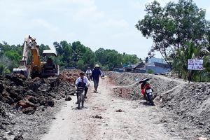 Nhiều công trình thi công 'rùa bò' ở Cà Mau