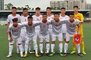 U18 Việt Nam về nhì giải quốc tế tại Hồng Công (TQ)