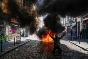 Pháp bắt hàng trăm người biểu tình