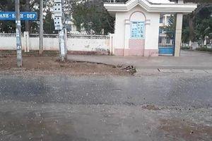 Xuất hiện mưa đá tại Đắk Hà