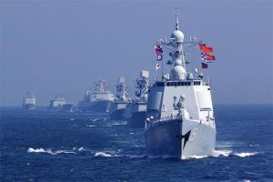 Tàu chiến các nước tham gia duyệt binh lớn chưa từng có của Hải quân TQ