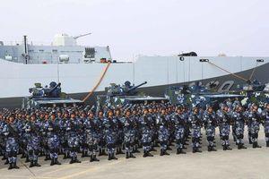 Trung Quốc nâng cấp biên chế lính thủy đánh bộ từ lữ đoàn lên cấp quân đoàn