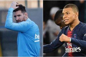 Messi bị Mbappe thu hẹp khoảng cách trong cuộc đua chiếc giày vàng