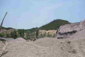 Bình Định: Dân bị tra tấn bởi bụi đá, tiếng ồn, nổ mìn phá đá của các doanh nghiệp