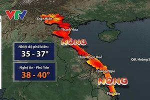 Nắng nóng tiếp tục diễn ra trên diện rộng, có nơi lên tới 40 độ C