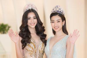Hoa hậu Trần Tiểu Vy lộng lẫy, đọ sắc với Đỗ Mỹ Linh