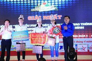 Thái Bình: Chung kết hội thi tìm hiểu ATGT dành cho học sinh phổ thông