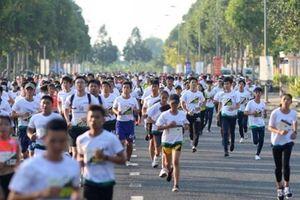 Sở TT-TT Hậu Giang tích cực hưởng ứng giải Mekong delta marathon 2019