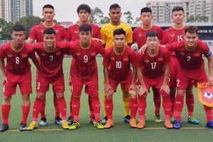 Chia điểm với chủ nhà, U18 Việt Nam đứng nhì giải giao hữu ở Hong Kong