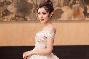 Huyền My diện váy cưới đính 500 viên kim cương, trị giá 2,5 tỷ đồng