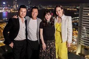 Nhóm bạn quyền lực showbiz tổ chức sinh nhật cho bà xã Chân Tử Đan