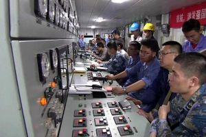 Những hình ảnh đầu tiên bên trong tàu sân bay tự đóng của Trung Quốc