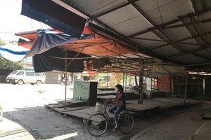 Tại thị trấn Vân Đình, huyện Ứng Hòa: Nguy cơ cháy nổ cao, cấp thiết sửa chữa chợ Cầu
