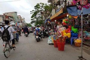 Lộn xộn trên tuyến phố Đà Nẵng ở TP Hải Phòng