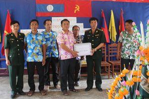 Bun Pi May của những người lính bảo vệ biên giới Lào