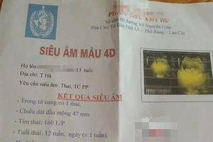 Lào Cai: Thầy giáo thừa nhận quan hệ với nữ sinh lớp 8
