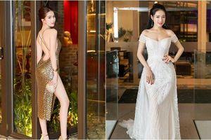 Ngọc Trinh sexy với váy xẻ cao tận hông, Nhã Phương khoe eo thon sau tin đồn sinh con