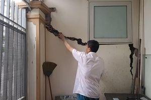 Cần xử lý thỏa đáng vụ 80 căn nhà liền kề KĐT Văn Phú bị sụt lún