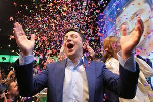 Lịch sử Ukraine sang trang mới sau khi diễn viên hài thắng cử tổng thống
