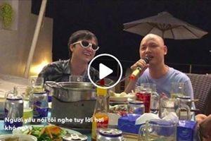 Cover hit mới của Trúc Nhân, thầy trò nhạc sĩ Nguyễn Hải Phong biến bàn nhậu thành studio