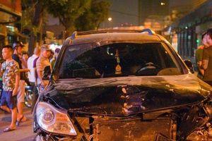 Vụ 'xe điên' đâm liên hoàn ở Hà Nội: Đang tiến hành lấy lời khai tài xế