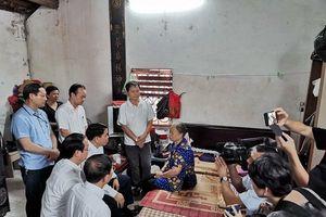 Hà Nội: Tổ chức thăm hỏi, động viên gia đình công nhân môi trường tử vong do tai nạn