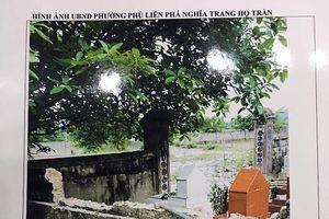 Cán bộ phường Phù Liễn bị tố đập tường bao khu lăng mộ họ Trần?
