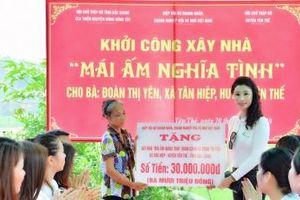 HH Nữ Doanh nhân doanh nghiệp nhỏ và vừa Việt Nam mang 'Mái ấm nghĩa tình' đến với Bắc Giang