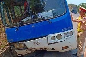 36 người may mắn thoát nạn khi xe khách mất phanh trên đèo Pha Đin