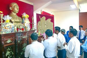 Phú Yên kỉ niệm 115 năm ngày sinh Tổng Bí thư Trần Phú