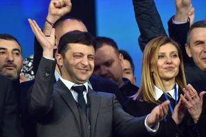 Tiết lộ về 'bóng hồng' đứng sau danh hài sắp thành Tổng thống Ukraine