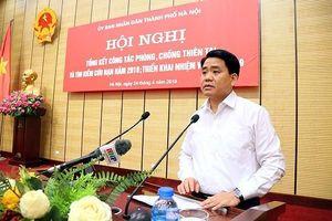 Chủ tịch UBND TP Hà Nội: Tuyệt đối không được lơ là, chủ quan trong phòng chống thiên tai
