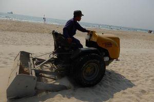 Xem máy sàng cát 'lọc' sạch bãi biển Đà Nẵng