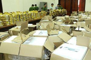 Tạm giữ hình sự 2 nghi phạm trong vụ ma túy 'khủng' ở thành phố Vinh
