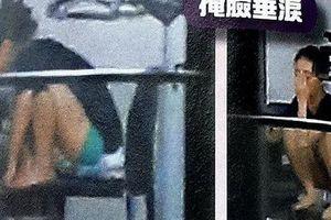 Á hậu Huỳnh Tâm Dĩnh trốn trong nhà, suy sụp khóc vì scandal ngoại tình