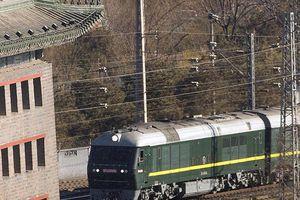 Đoàn tàu bọc thép của ông Kim Jong Un vượt sang biên giới Nga