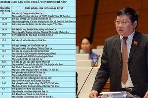 Ông Lê Như Tiến: 'Làm gì có ngẫu nhiên mà con cháu quan chức được nâng điểm'