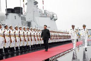 Hải quân Trung Quốc khoe tàu chiến nhân dịp kỷ niệm 70 năm thành lập