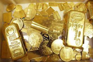 Giảm nhẹ, giá vàng xuống mức thấp nhất trong 4 tháng