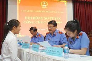 Viện KSND TP Cần Thơ tổ chức sơ tuyển công chức