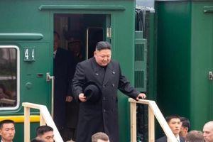 Ông Kim Jong-un đã đến Nga