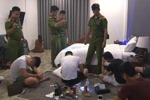 Triệt phá tụ điểm sử dụng ma túy trong khách sạn