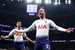 Tottenham bứt phá ở vị trí top 3 Premier League