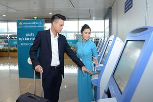 Vietnam Airlines ra mắt dịch vụ telephone check-in phục vụ cao điểm lễ 30/4 và 1/5