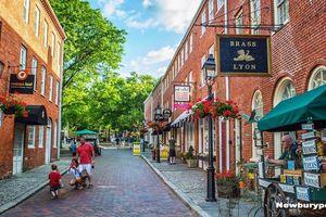 Ghé thăm thành phố quyến rũ Newburyport, Mỹ